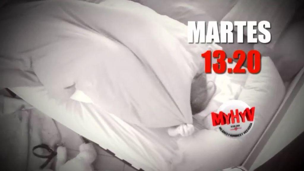 La cita a ciegas de Jorge Javier y la pasión de un tronista bajo las sábanas, este martes en 'MyH'