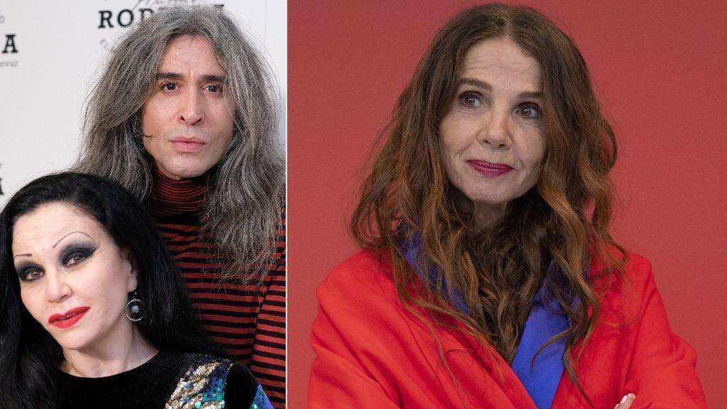 """Alaska y Mario Vaquerizo defienden a Victoria Abril: """"Ella y Miguel Bosé son unos valientes"""""""