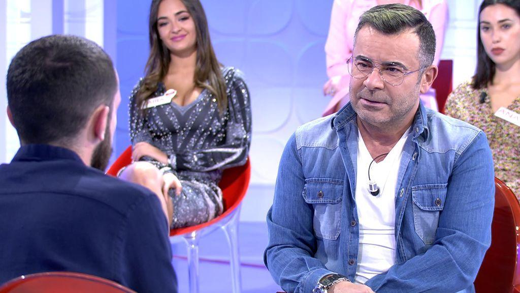 Jorge Javier no termina de encajar con sus pretendientes