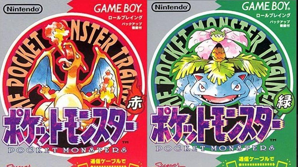 Pokémon Verde y Rojo