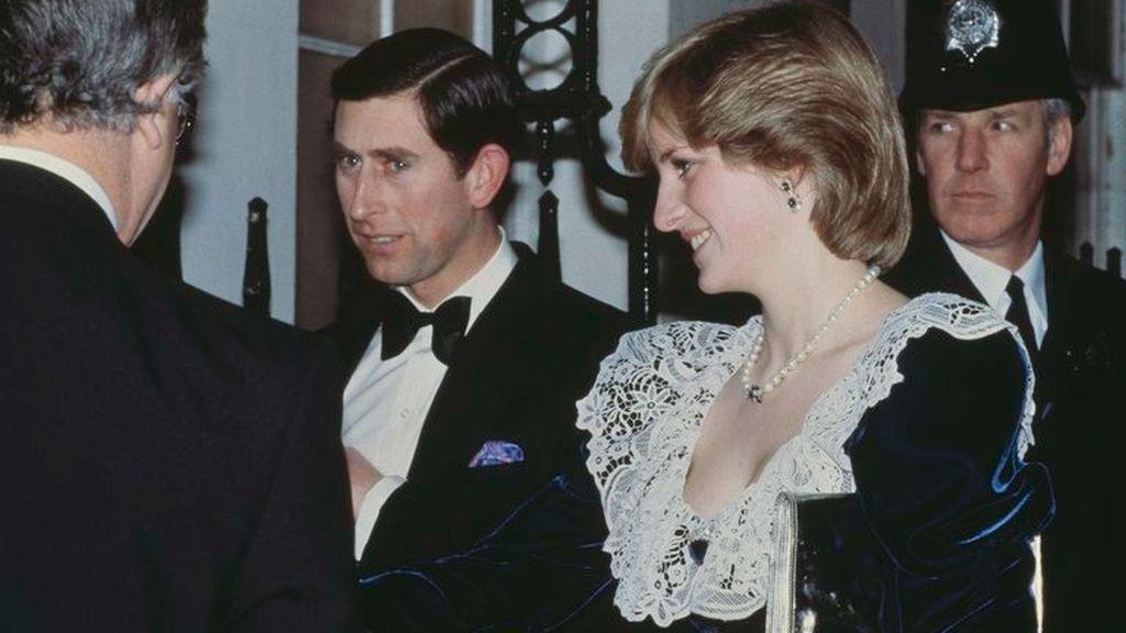 Carlos de Inglaterra y la princesa Diana
