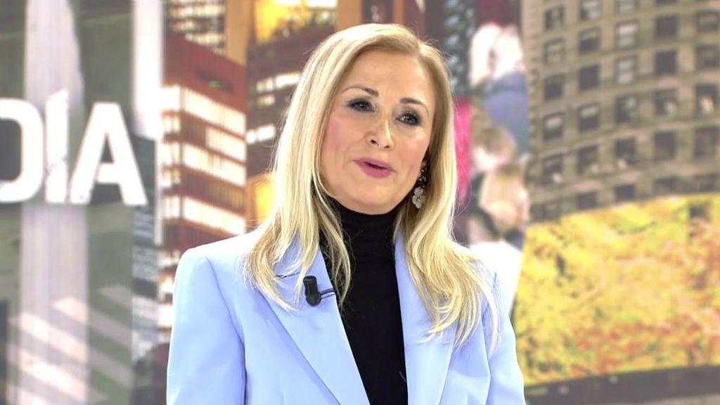 Cristina Cifuentes vuelve a 'Cuatro al día'