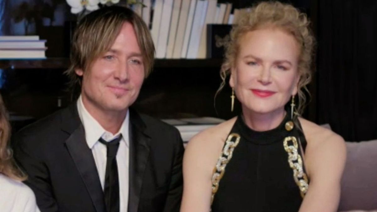 Nicole Kidman presenta por primera vez a sus hijas en la gala más peculiar de los Globos de Oro