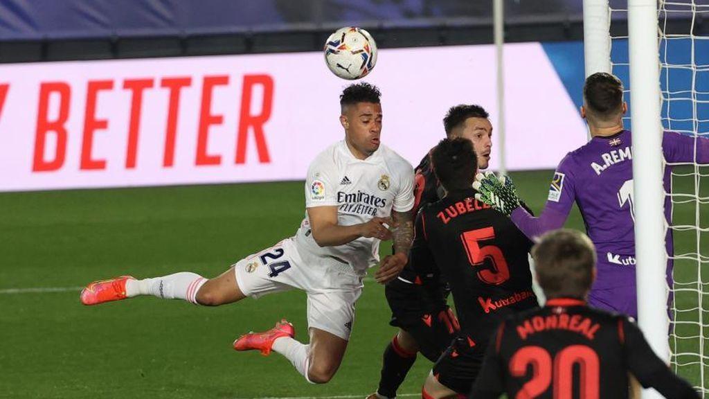Mariano, negado de cara al gol: Zidane sigue sin dar con la tecla en ataque
