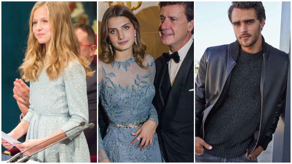 Leonor de Borbón no es la única: Pepe Barroso Jr., Amina Martínez de Irujo y otros hijos de famosos que han decidido estudiar fuera de España.