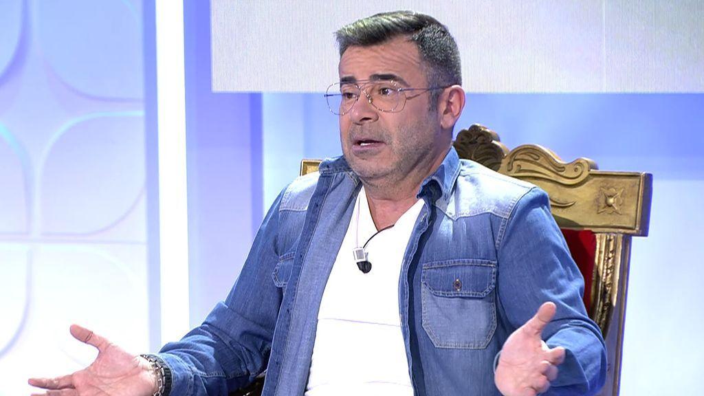 """El complicado pasado sentimental de Jorge Javier: """"Me he quedado colgado de auténticos zumbados"""""""