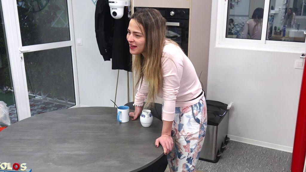 Marta dejó de defender a Suso en los programas