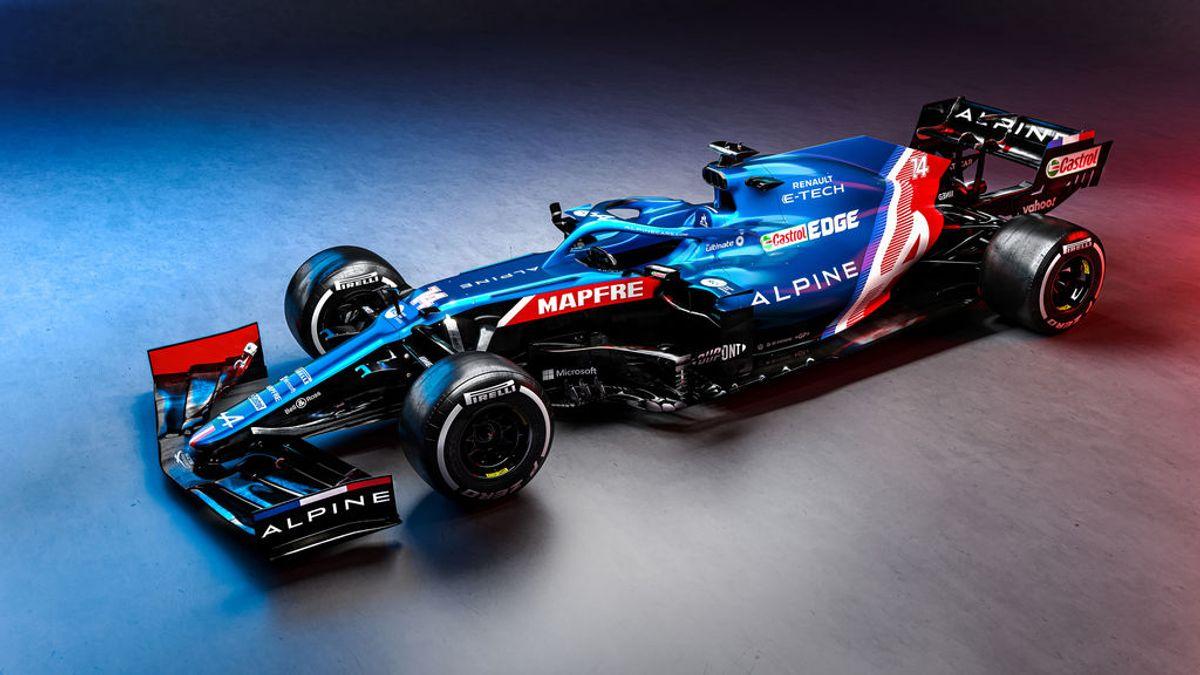 Alpine presenta el A521, el monoplaza de la vuelta de Fernando Alonso a la Fórmula 1