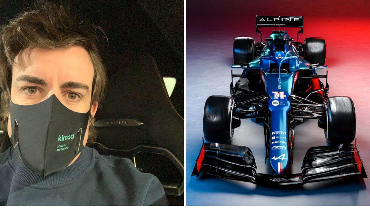 """Fernando Alonso, tras la presentación del A521: """"Estoy muy motivado por volver a donde conquisté tanto"""""""
