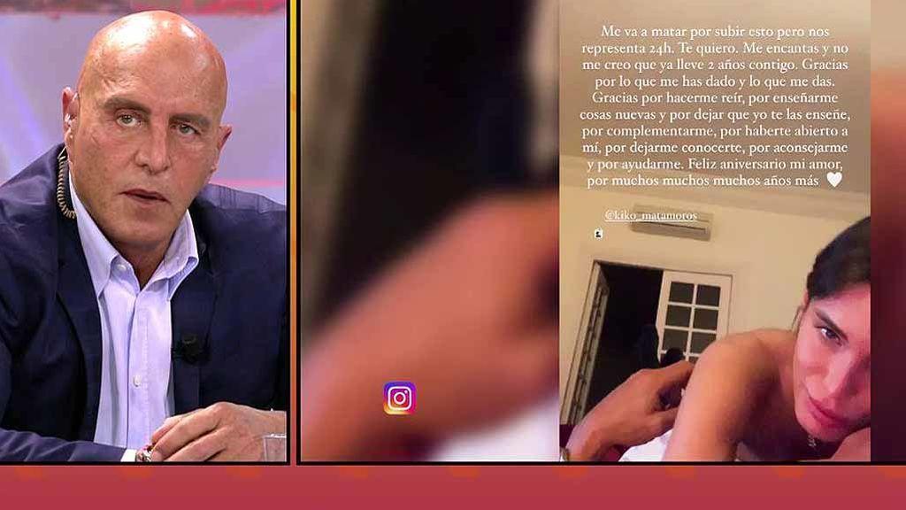 La íntima felicitación de Marta López a Kiko Matamoros