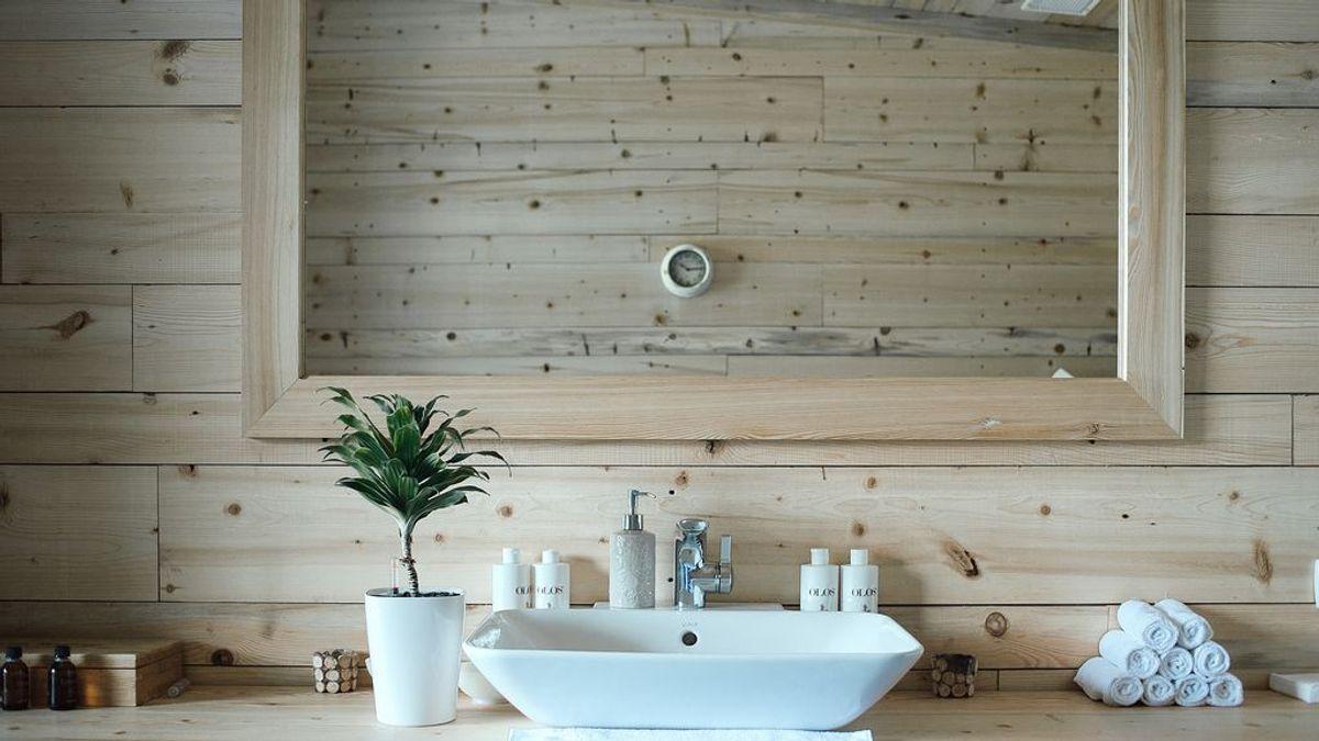 decorar baño en primavera