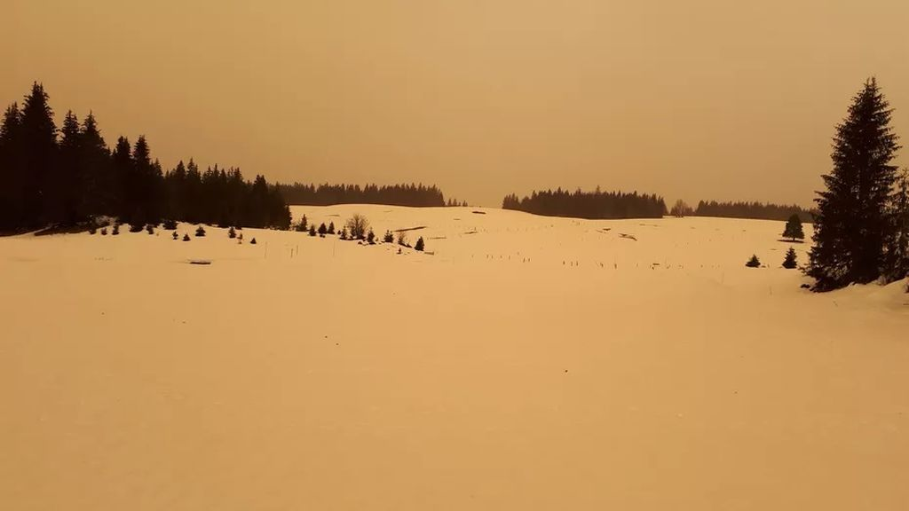 El efecto bumerán del polvo del Sáhara que ha devuelto la radioactividad a Francia