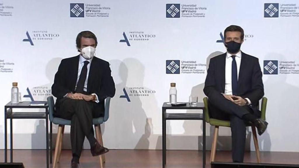 En directo: Aznar y Casado en el 25 aniversario de la victoria del PP