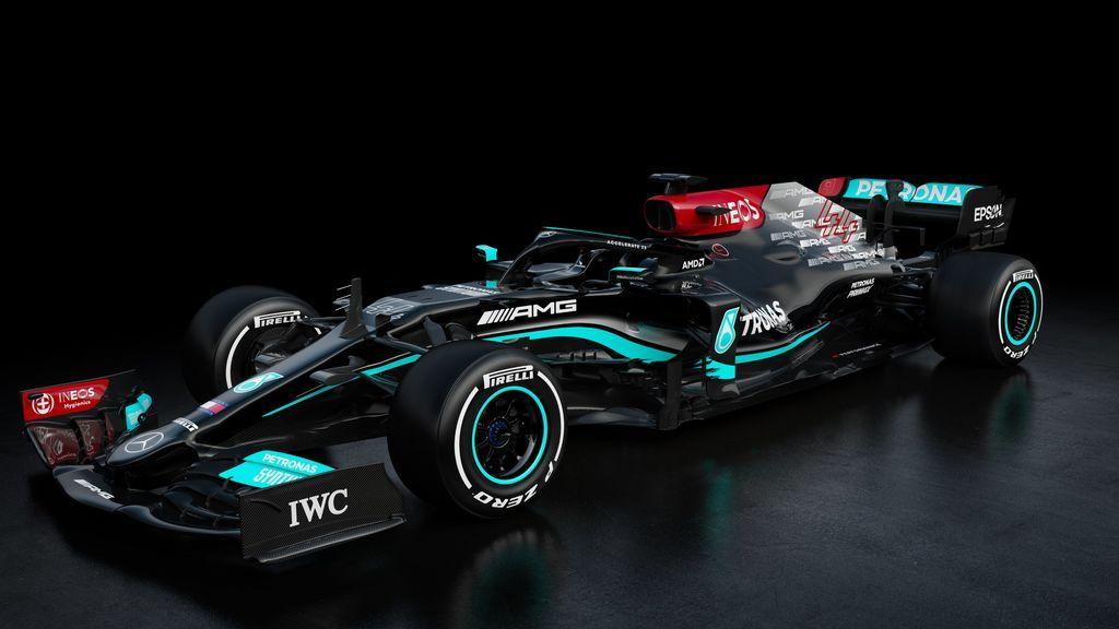 Mercedes presentan el W12 con el que Hamilton intentará conseguir su octavo mundial