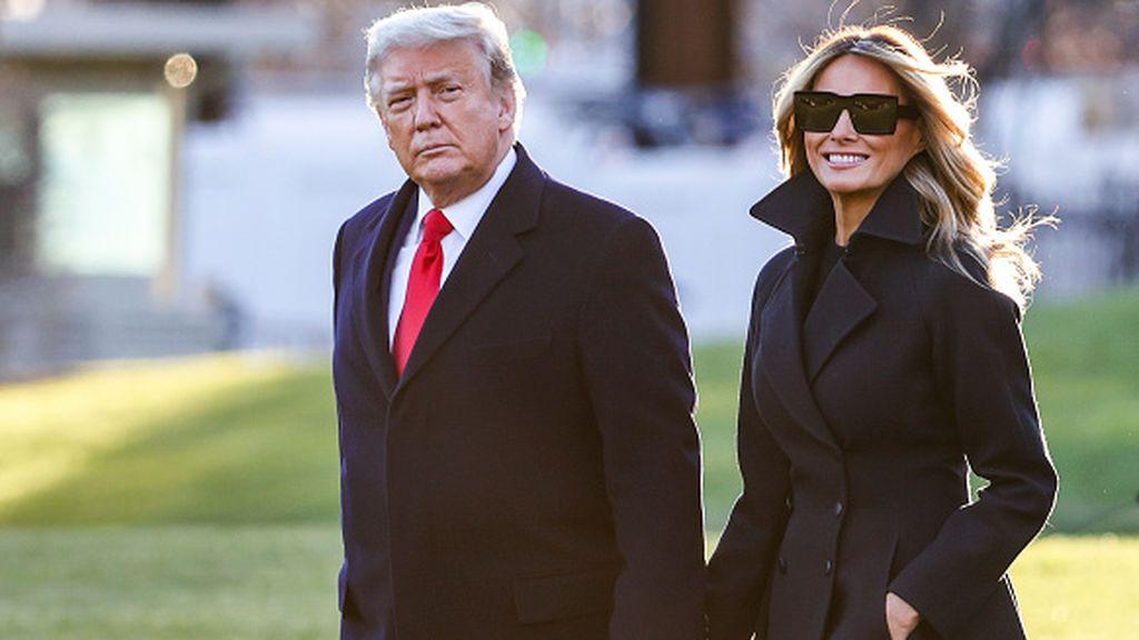 Donald y Melania Trump se vacunaron contra la covid en la Casa Blanca