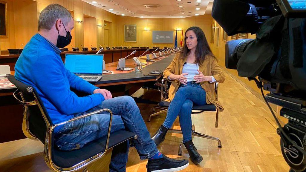 Entrevista de Ione Belarra en NIUS