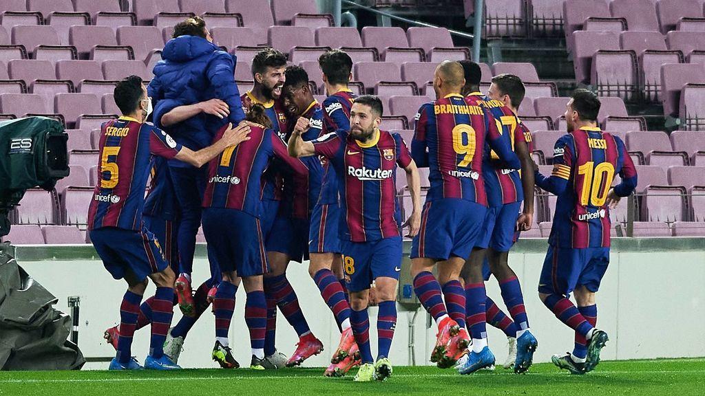 Final Barcelona - Sevilla: el Barça culmina la remontada (3-0) y se mete en la final de la Copa del Rey