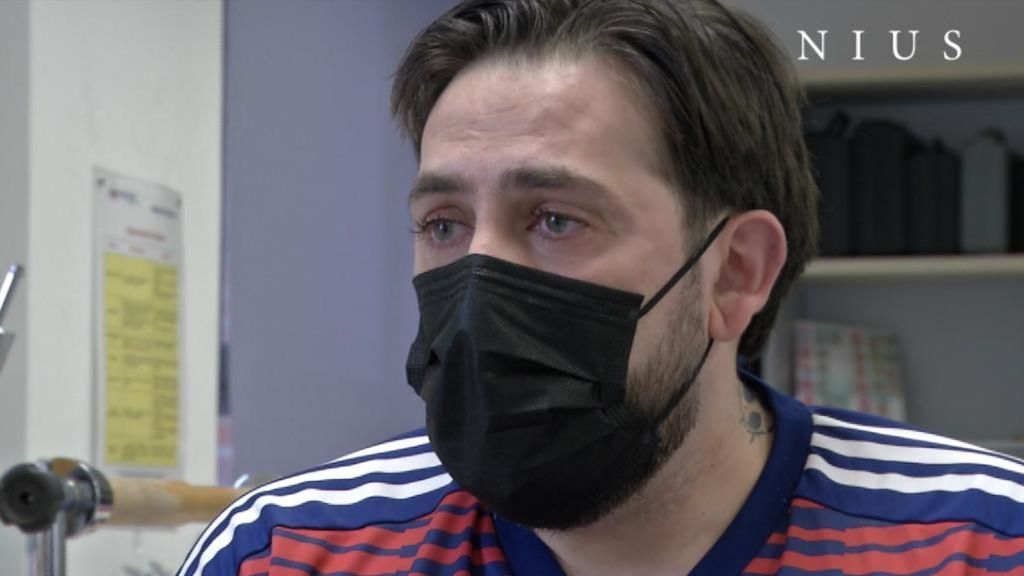 Rafael, de 42 años, tuvo covid grave y aún arrastra secuelas