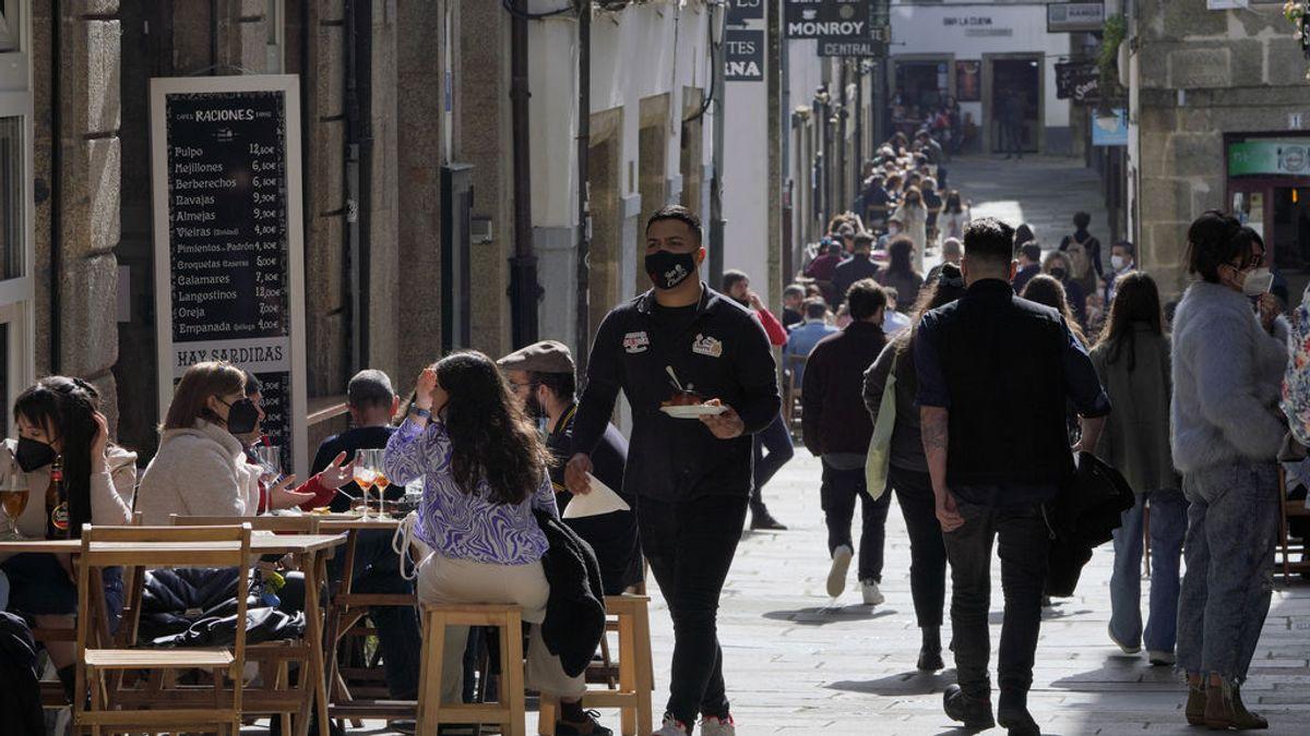Terrazas de restaurantes en Santiago de Compostela