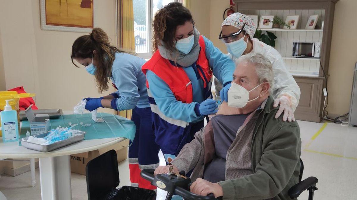 Un 85% de mayores en residencias han recibido las dos dosis de las vacunas