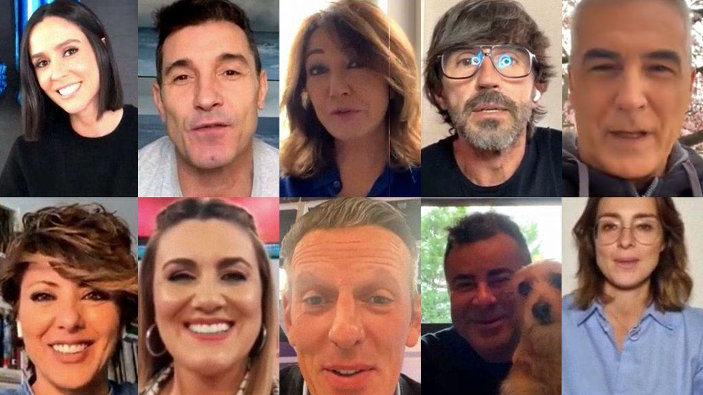"""Los presentadores de Telecinco celebran el millón de seguidores en Instagram: """"Se ha convertido en el gran bar del siglo XXI"""""""