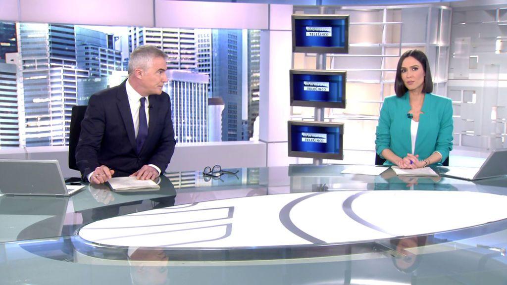 Con David Cantero y Alba Lago Informativos Telecinco 2020 Mediodía 03/03/2021