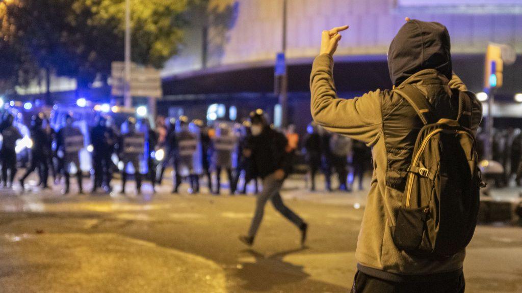 Las protestas pro Hasél han dejado 152 saqueos, 136 detenidos y 73 agentes heridos en Cataluña