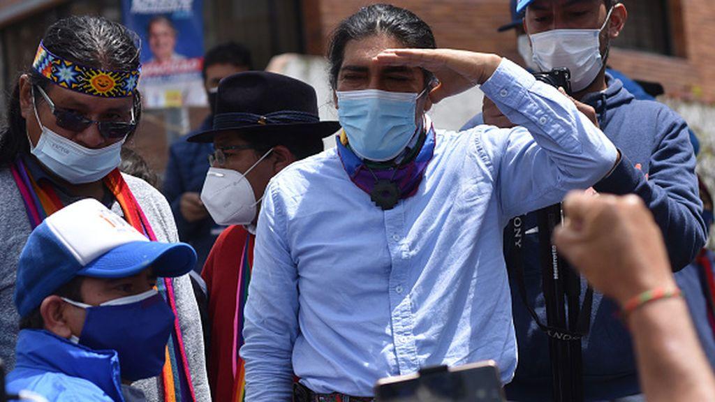 Yaku Pérez se queda fuera de la segunda vuelta en las elecciones en Ecuador