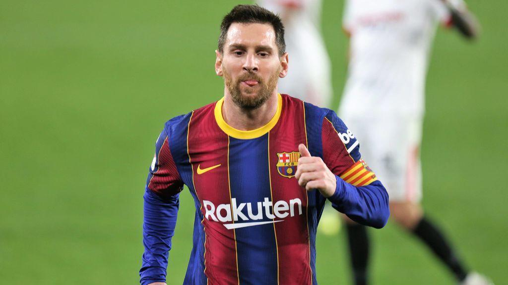 Messi, titular ante el Sevilla