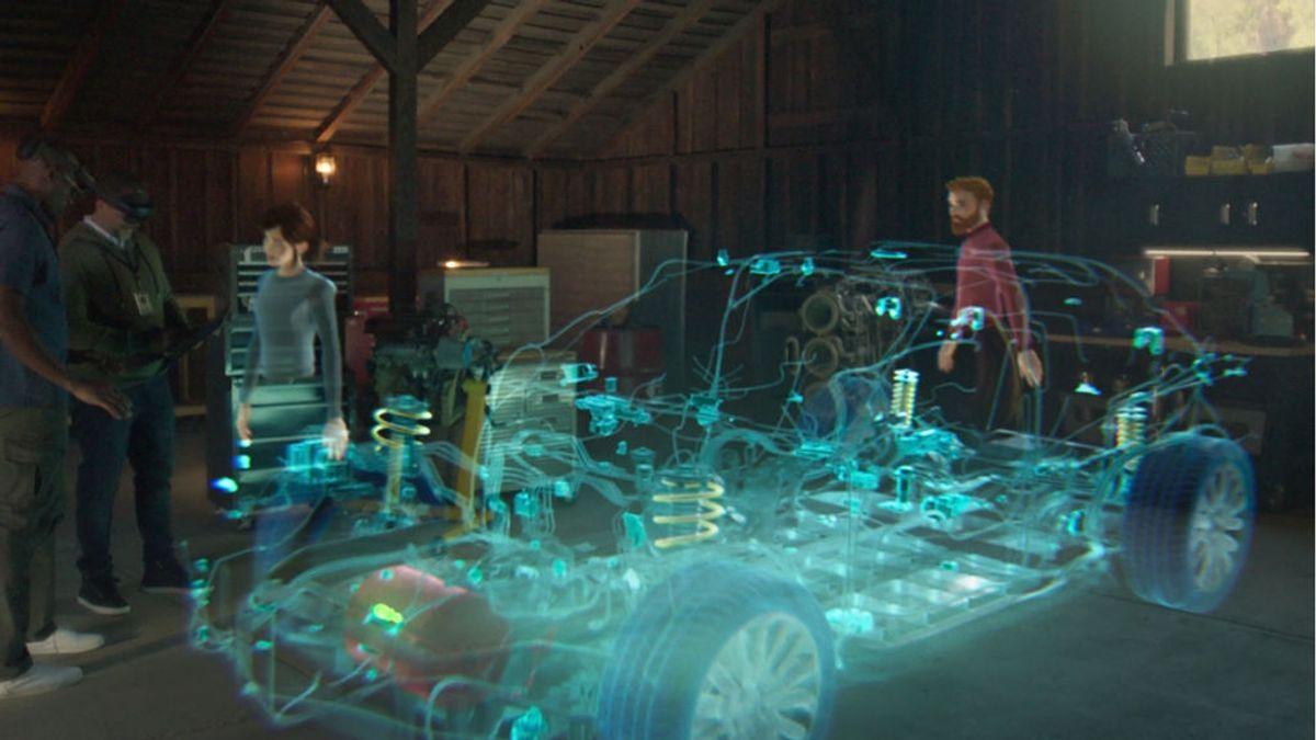 Microsoft Mesh, la plataforma de realidad aumentada para crear reuniones en 3D que utiliza James Cameron