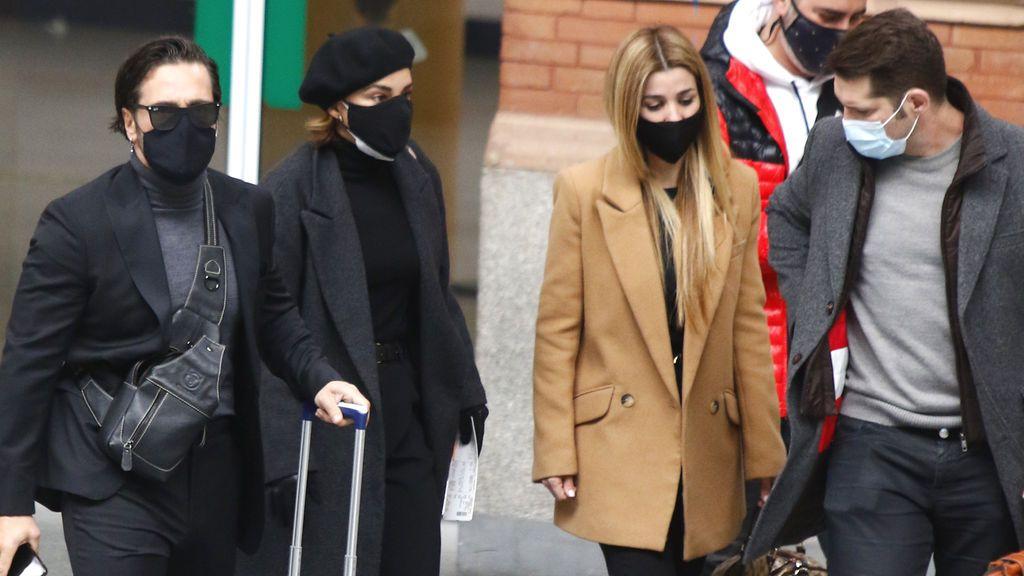 Bustamante, Chenoa, Manu Tenorio y Natalia viajan a Barcelona para despedirse de Àlex Casademunt