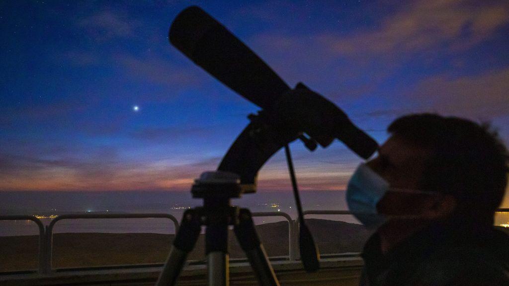 ¡Prepara los prismáticos! Pronto será la esperada conjunción de Júpiter y Mercurio