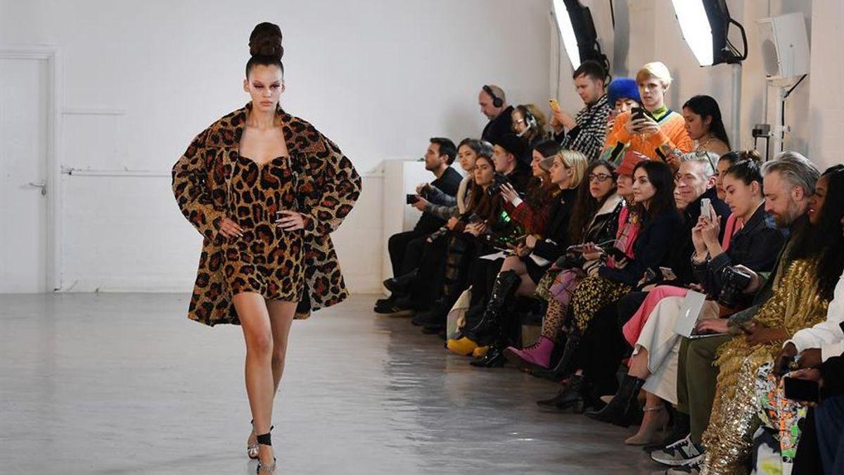 Científicos proponen un peaje a la moda, que paguen los derechos al leopardo por usar su piel