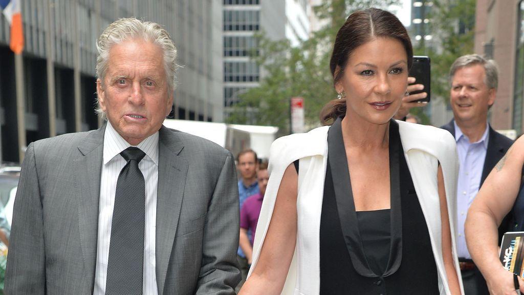 Michael Douglas y Catherine Zeta Jones llevan más de veinte años juntos.