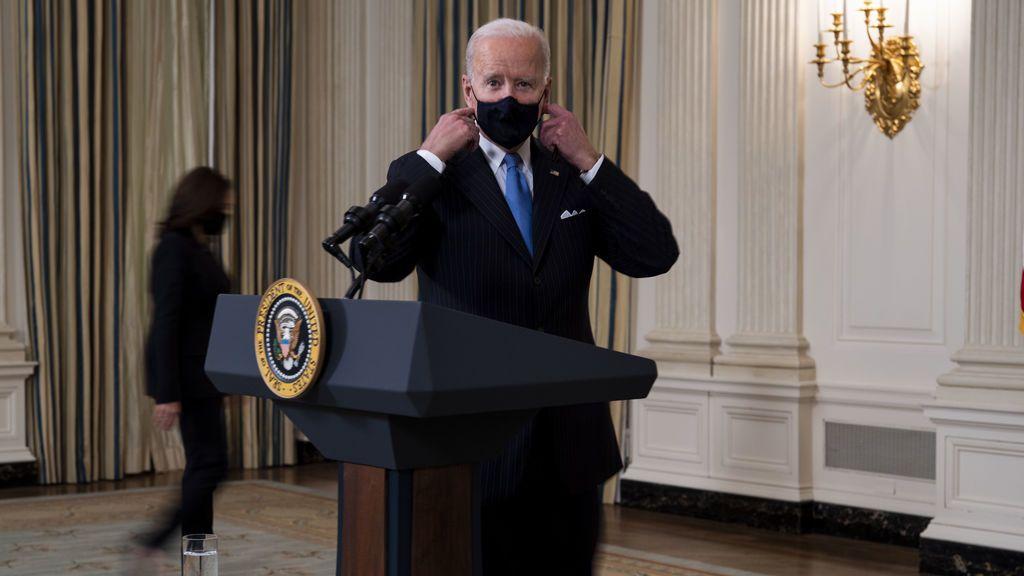 Biden promete vacunas contra la covid para todos los adultos de Estados Unidos a finales de mayo