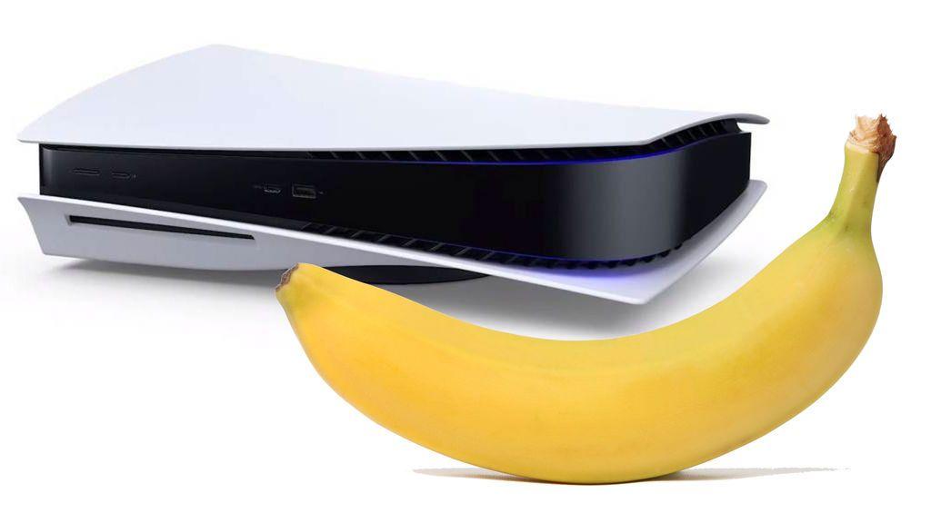 El nuevo mando de PlayStation 5 podría ser un plátano
