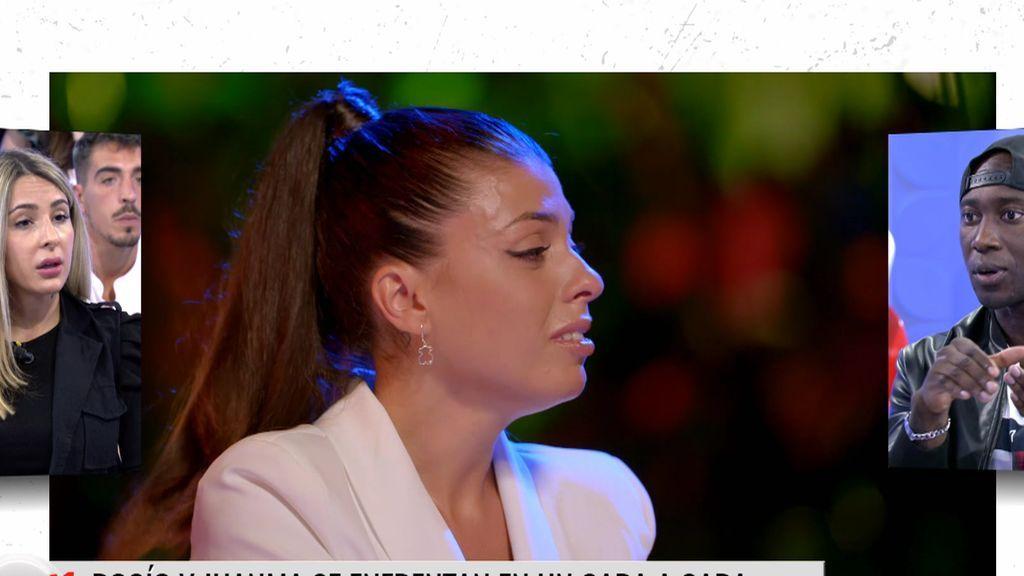 Rocío confiesa que Juanma le dijo que se había inventado su rollo con Lola('LIDLT) por dinero