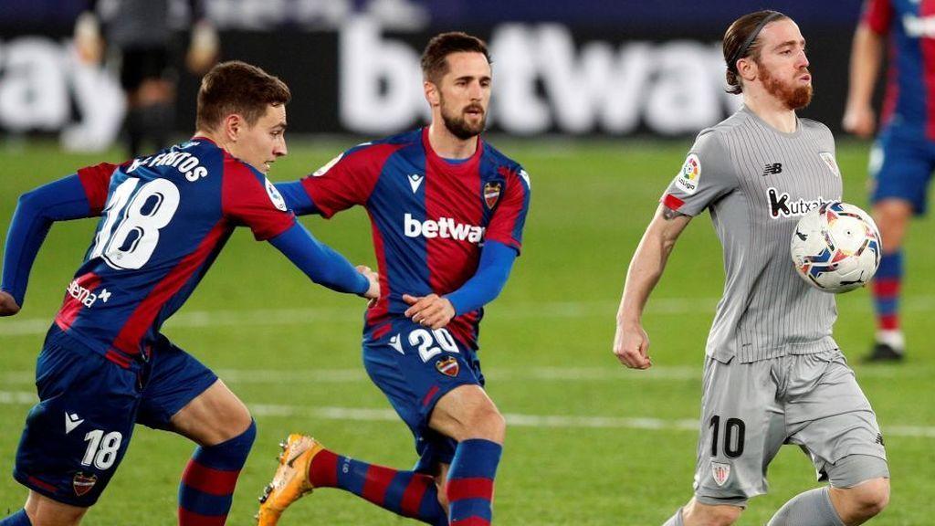 Levante - Athletic: las posibles alineaciones y la duda de Íñigo Martínez para Marcelino