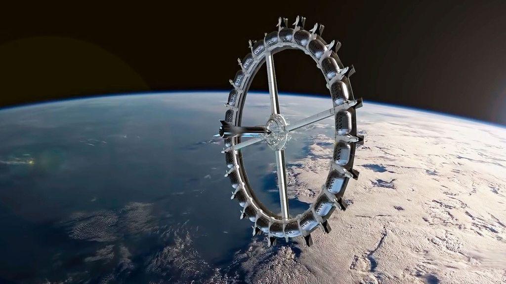 Dormir mirando la Tierra desde fuera será posible en 2027: así será el primer hotel espacial comercial