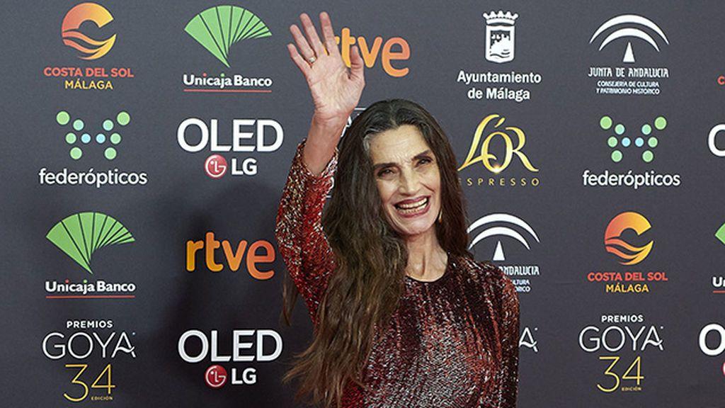 Ángela Molina y su trayectoria estilística: del minimalismo al glamur