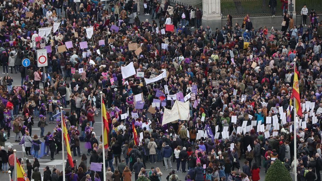 El 8M hubiera reunido a 60.000 personas en Madrid, según la Delegación de Gobierno