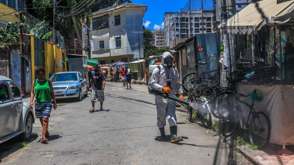 Brasil registra 1.910 muertos, la cifra diaria más alta desde el inicio de la pandemia