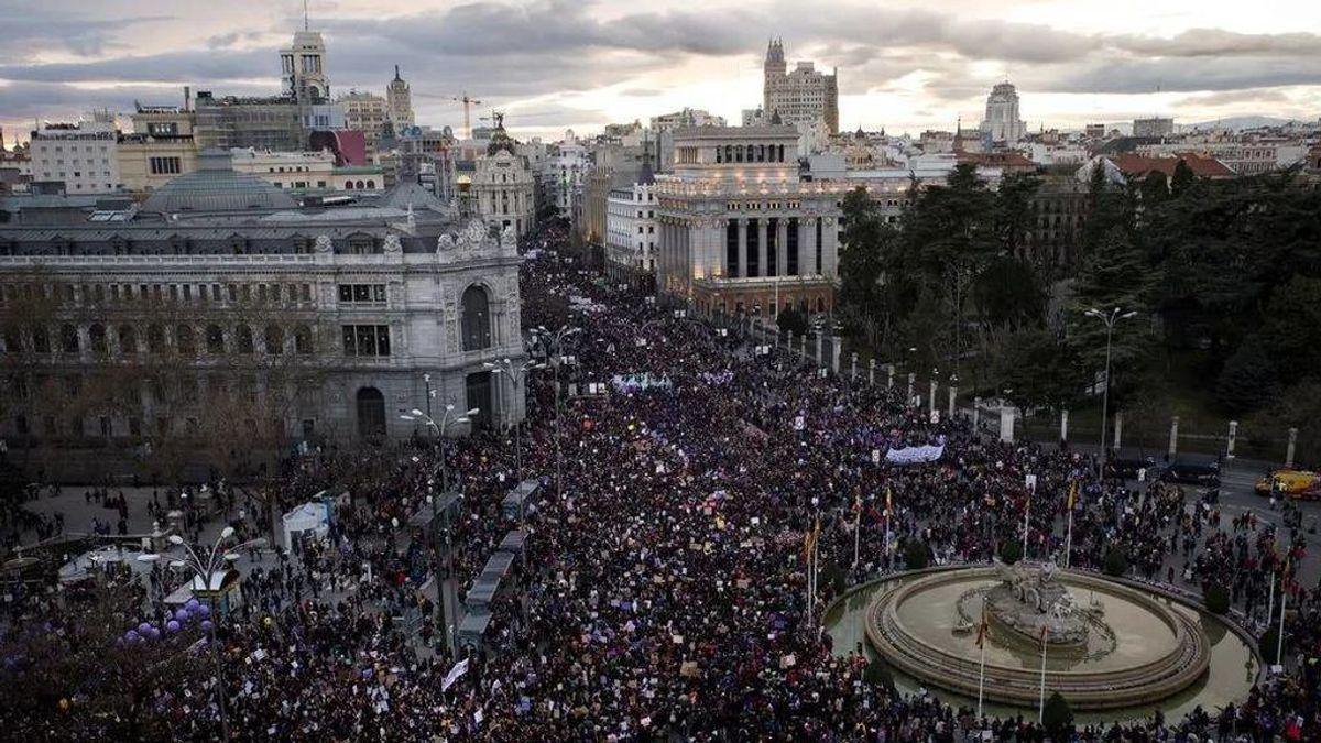 Madrid es la única comunidad que prohíbe las manifestaciones el 8M por el día de la mujer