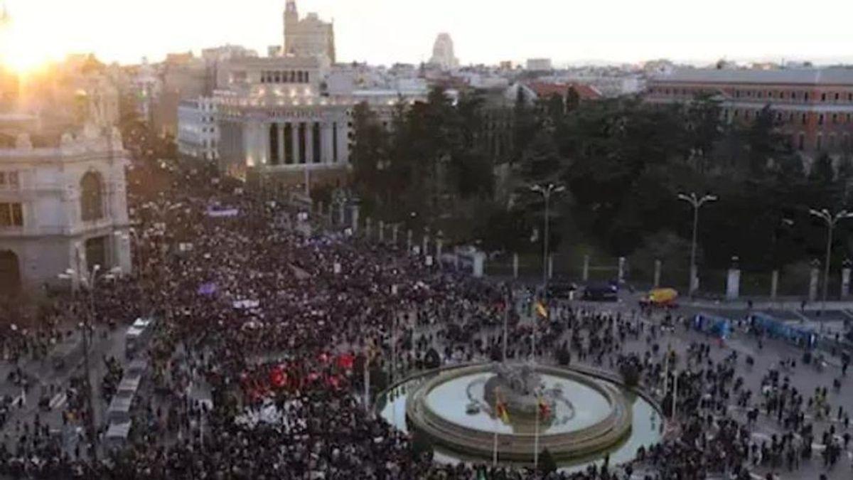 Sindicato de Estudiantes llama a desafiar la prohibición de las manifestaciones del 8M en Madrid