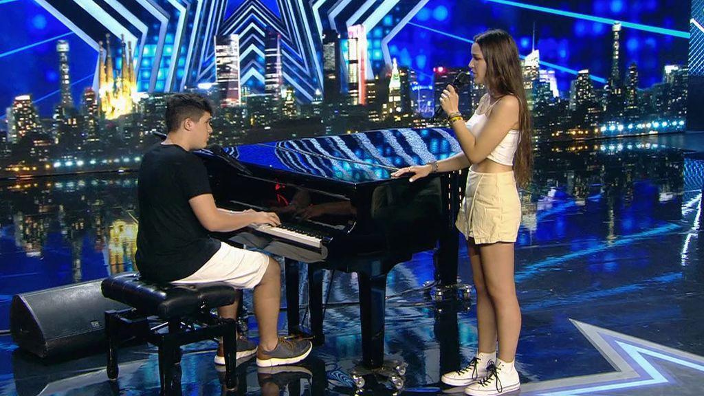 La especial actuación de Sergi y Marta