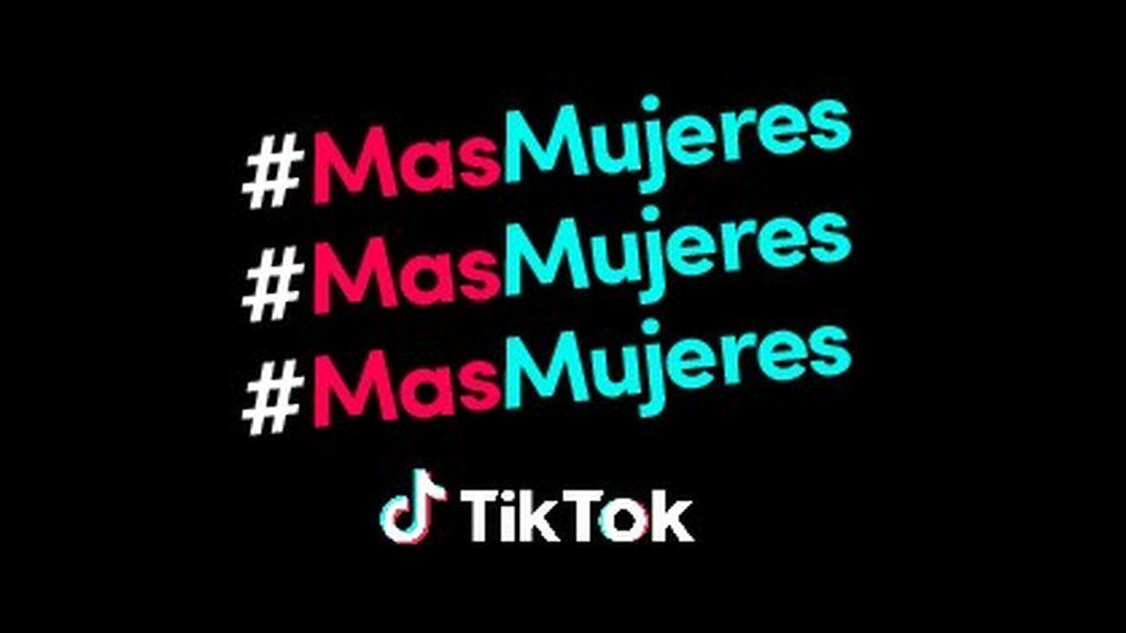 #MasMujeres TikToK