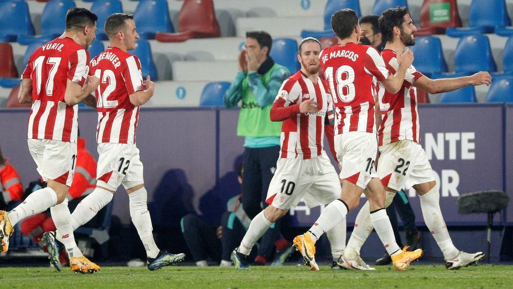 Goles Levante - Athletic: el mejor resumen del partido de Copa del Rey