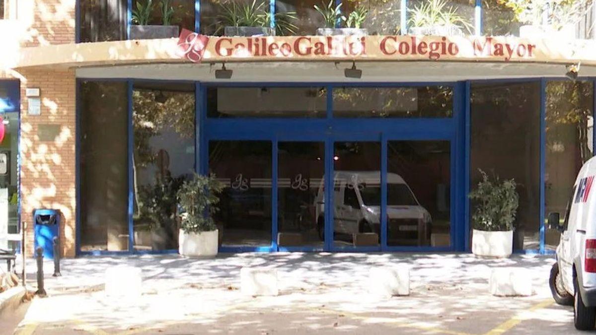 Fachada del Colegio Mayor valenciano Galileo Galilei