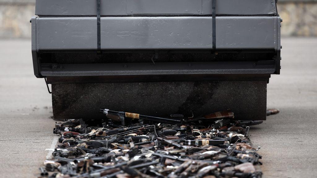 El PNV molesto por el acto de destrucción de armas de ETA y pide un pacto sobre la memoria