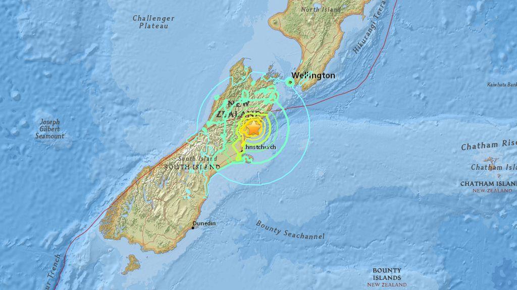 Cada año se sienten en Nueva Zelanda hasta 150 terremotos